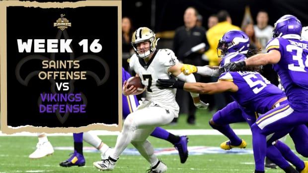 Saints Offense Vs. Vikings Defense