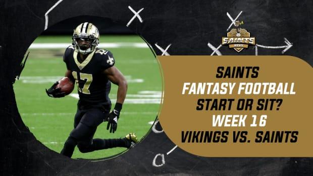 Saints Fantasy Football Week 16