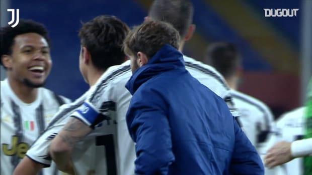 Dybala returns to score as Juventus win 3-0 at Genoa