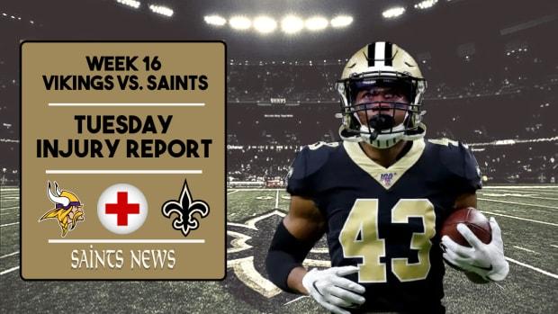 Saints Injury Report Week 15 (7)