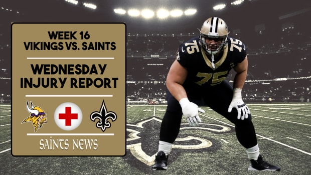 Saints Injury Report Week 15 (8)