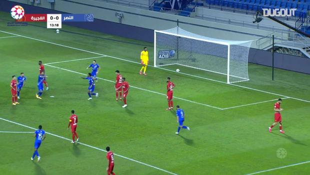 Highlights: Al-Nasr 3-2 Fujairah
