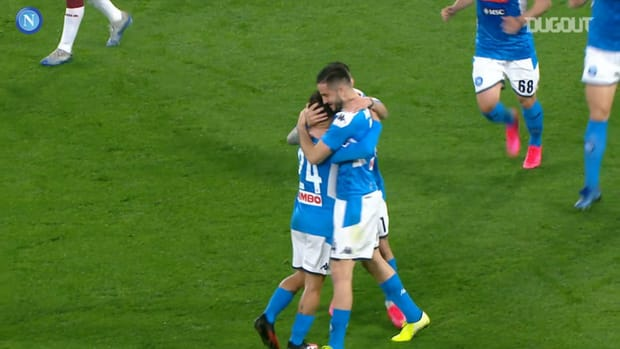 Napoli's best home goals against Torino