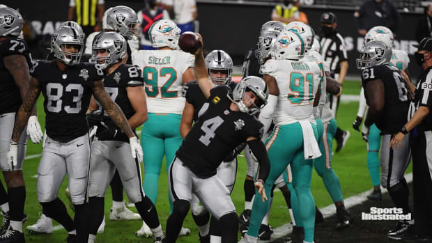Recap from Raiders 26-25 Loss to the Dolphins