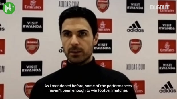 Arteta: 'Chelsea win shows what we can do at our best'