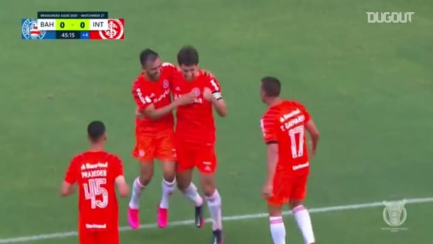 Highlights Brasileirão: Bahia 1-2 Internacional