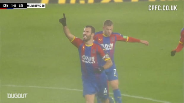 Milivojević hammers home to defeat Leicester