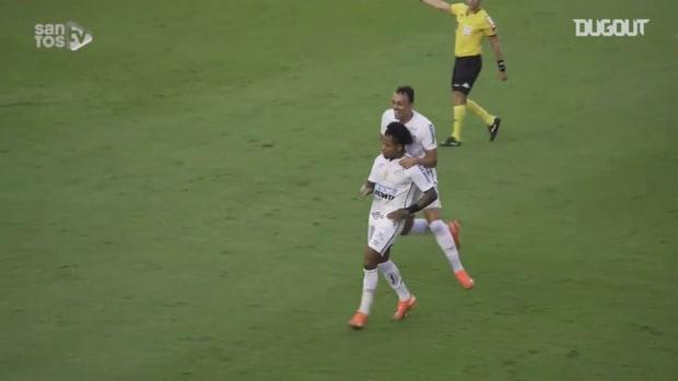 Santos draw against Ceará at Vila Belmiro