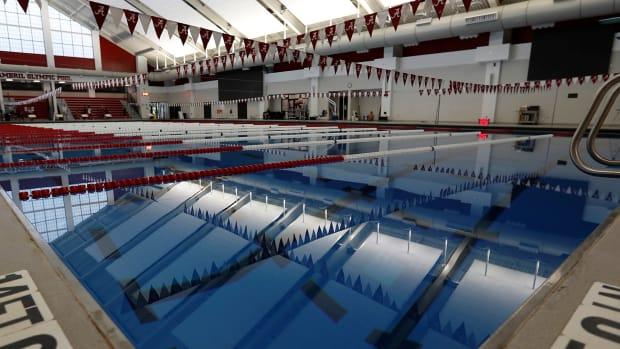 Alabama swimming and diving facilities