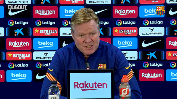 Ronald Koeman: ''A week without training will be good for Leo Messi'