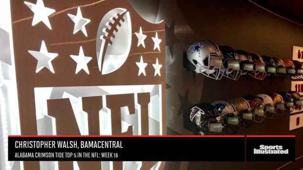 Alabama Crimson Tide Top 5 in the NFL Week 16