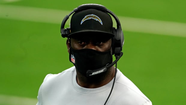 Anthony Lynn was hired by the Chargers ahead of the 2017 season.