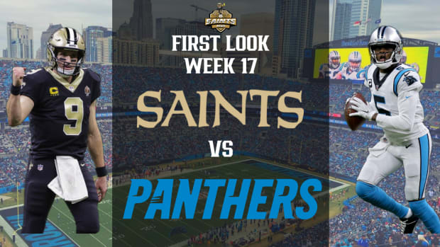 Saints Vs. Panthers First Look