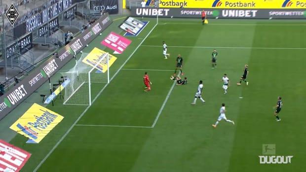 Borussia Monchengladbach's top strikes of 2020