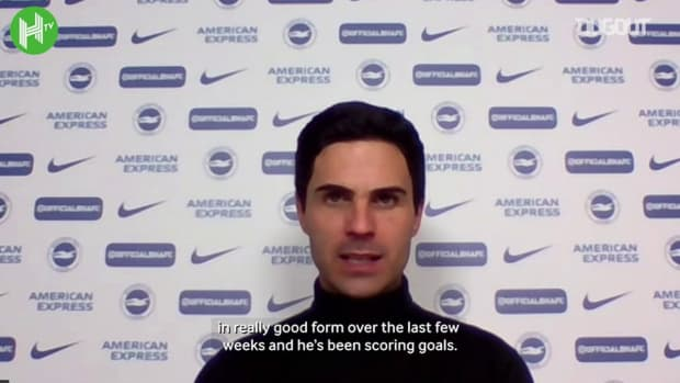Arteta delighted with Lacazette impact