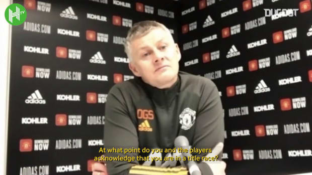 Solskjær believes it's still too early to say Man United are in title race