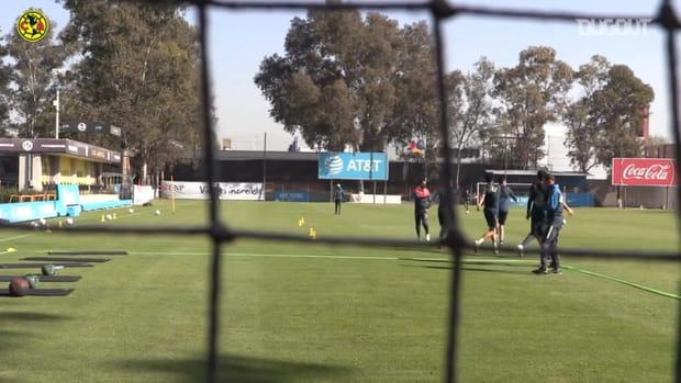 Club América start preparing for the 2021 Clausura