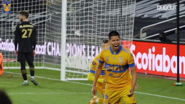 Pitchside view: Tigres win the 2020 CONCACAF Champions League