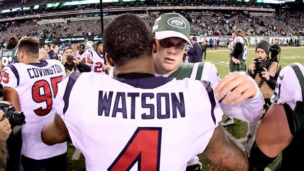 Houston Texans Deshaun Watson Jets Sam Darnold