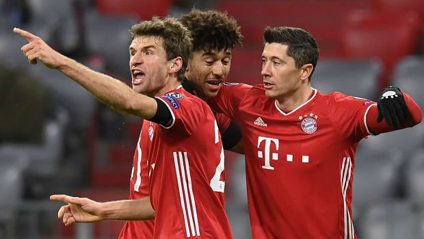 Richards-Mueller-Lewandowski-Bayern