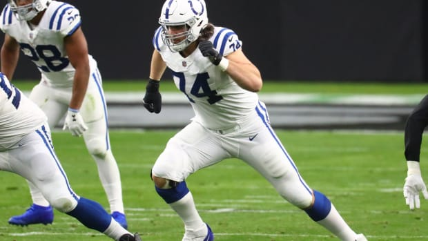 Indianapolis Colts offensive left tackle Anthony Castonzo will miss his fourth game of the year Sunday after suffering a season-ending ankle injury that requires surgery.