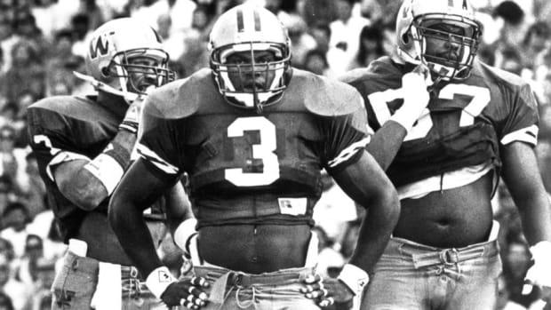 Jaime Fields was a stalwart for the 1991 national title team.