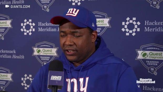 Patrick Graham on the Giants Defense