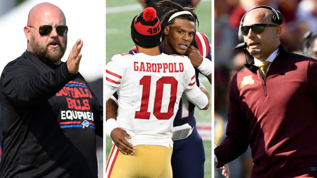 NFL Mailbag: Daboll head-coaching spots, Cam Newton and Jimmy Garoppolo futures, PJ Fleck as NFL coaching candidate