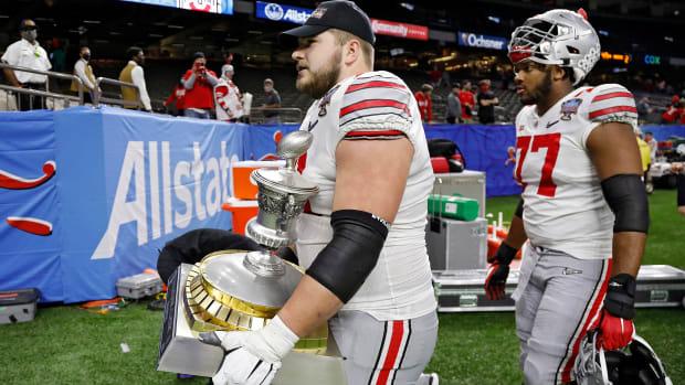 Josh Myers Sugar Bowl Trophy