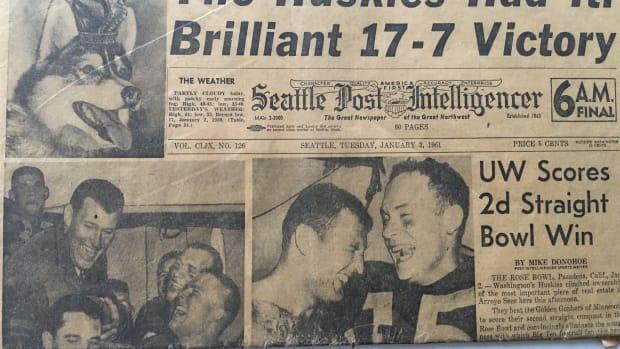 The Huskies won the 1961 Rose Bowl.