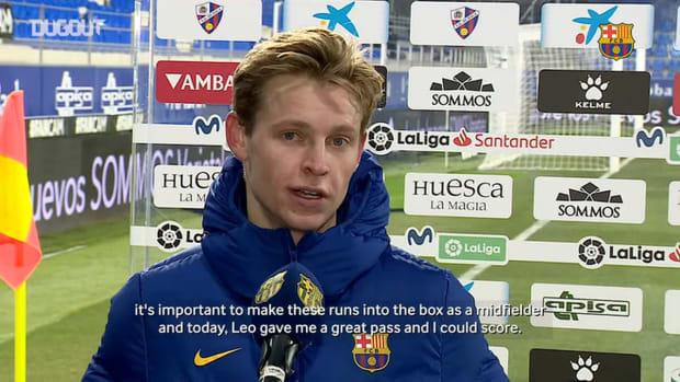Frenkie De Jong: 'I try to score a little bit more'