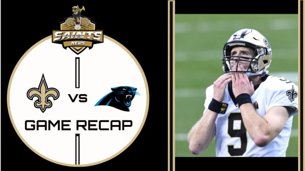 Panthers Vs. Saints Game Recap