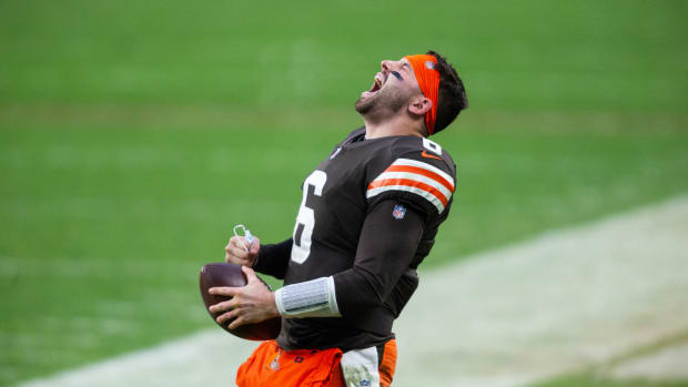 Baker Mayfield - playoff yell