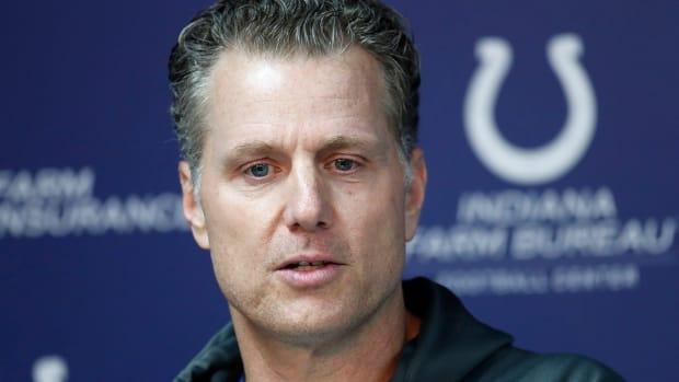Indianapolis Colts Defensive Coordinator Matt Eberflus