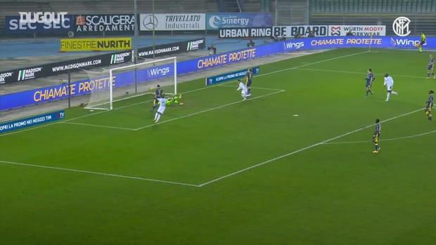 Inter's 2-1 away win at Hellas Verona
