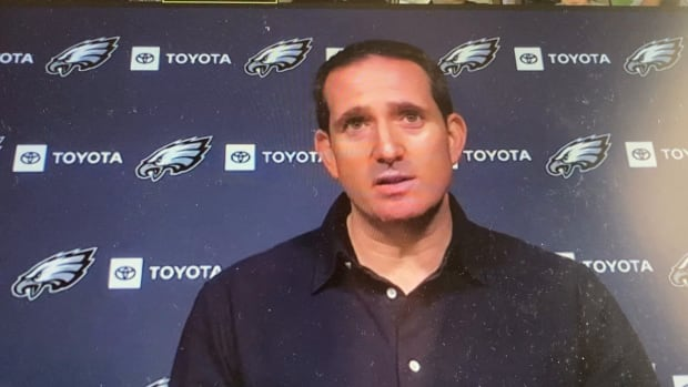 Eagles GM Howie Roseman will turn his attentoin to evaluations and the 6th pick in the NFL Draft