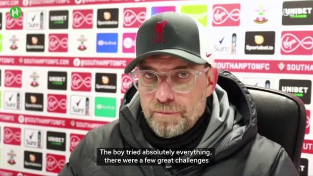 Klopp compares Liverpool penalty record to Manchester United