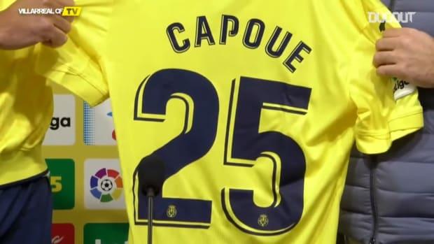 Étienne Capoue arrives at Villarreal