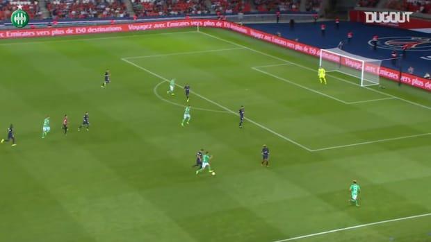Robert Beric's late equalizer vs Paris Saint-Germain