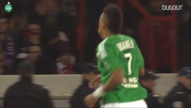 Saint-Etienne's top five goals vs Paris Saint-Germain