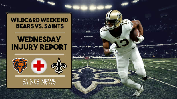 Saints Injury Report Week 16 (2)