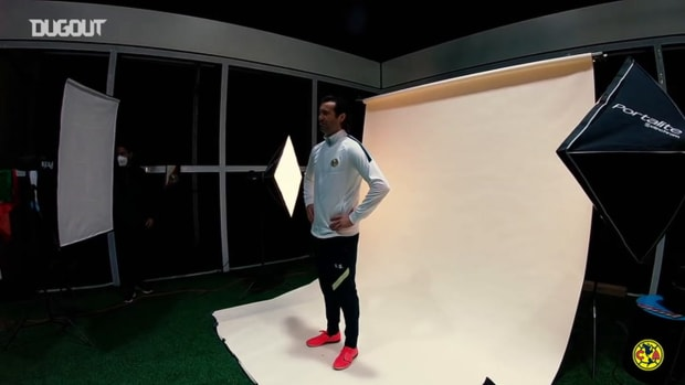 Behind the scenes: Santiago Solari and coaching staff's photoshoot