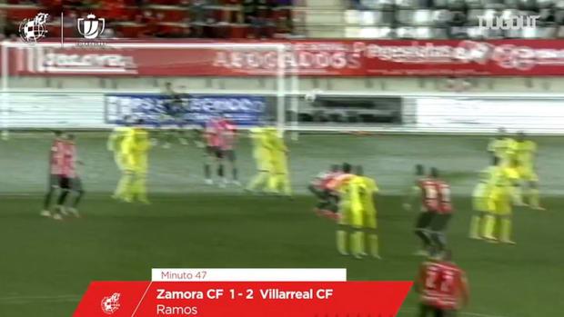 Carlos Ramos scores incredible strike vs Villarreal