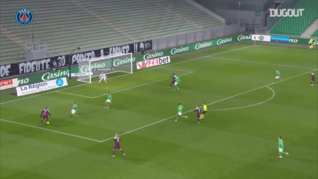 Moise Kean's superb finish against Saint-Etienne in Ligue 1