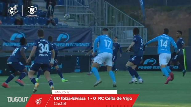 UD Ibiza's five goals vs Celta