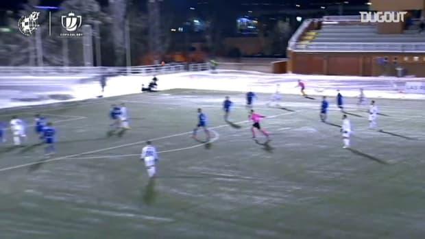 Yoshinori Muto's goal vs Las Rozas