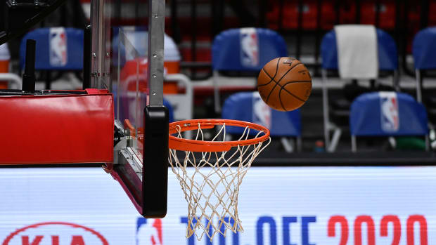 The G League will play its upcoming season in a bubble at Disney.