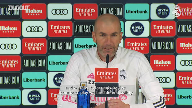 Zinedine Zidane: 'We have to be ready to give our best'