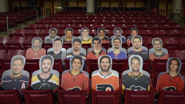 NHL player cutouts