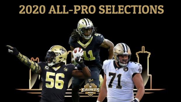 Saints Pro-Bowlers 2021